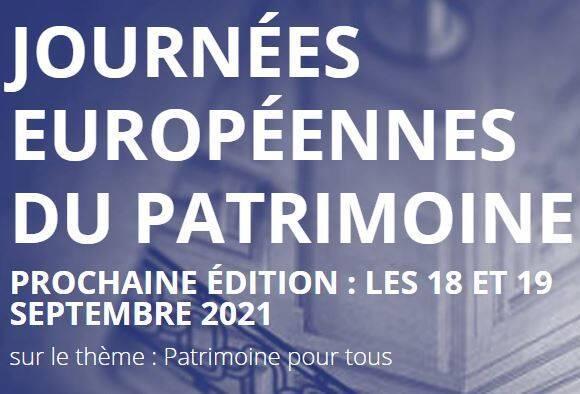 Journée du patrimoine 2021
